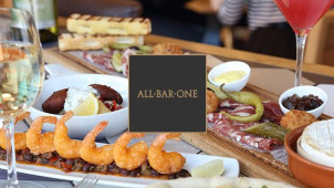 £10 off When You Spend £30 at All Bar One