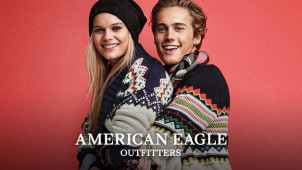 Up to 40% off the Holiday Collection Orders at American Eagle Outfitters