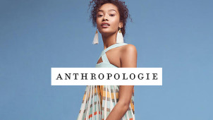 Free Delivery on Orders Over £75 with Anthro Sign-ups at Anthropologie