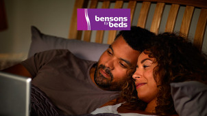 Half Price Plus £50 Off Lindale Divan Bed Set at Bensons For Beds