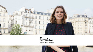 20% Off Full Priced Orders at Boden