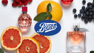 Up to 50% off Selected Fragrance Orders at Boots