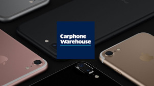 iPhone 7 from £39.50/pm and £49.99 Upfront with 3GB of Data at Carphone Warehouse