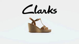 15% OFF New Collection at Clarks!