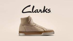 New Season Styles from £22 Plus Free Delivery on Orders Over £50 at Clarks