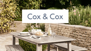 20% Off Orders over the Bank Holiday at Cox & Cox