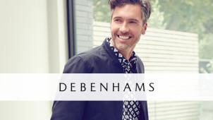 20% off Selected Menswear at Debenhams