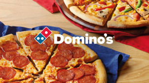 25% Off Orders Over £20 at Domino's Pizza