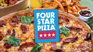 Mega Deal for €22 at Four Star Pizza