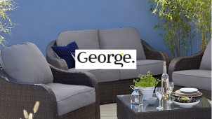50% Off Selected Garden Furniture plus an Extra 40% Off at George