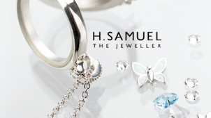 £15 Off Your Next Order with Orders Over £10 at H.Samuel