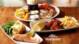 33% off Mains at Harvester