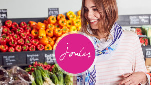 £20 Off Orders Over £80 Plus Free Delivery at Joules