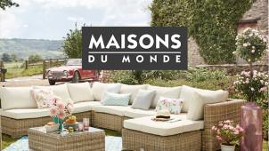Get £50 Off Interior Decor at Maisons du Monde