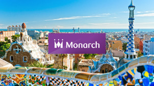 Thousands of Flights From £30 at Monarch Flights