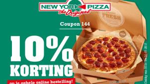 10% korting op je bestelling met deze kortingscode!