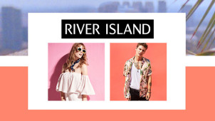 25% Off Orders Over €85 at River Island