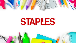 £10 Off Orders Over £50 plus Free Delivery at Staples