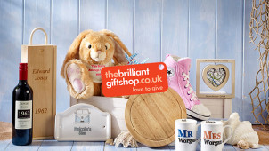 25% off Gifts Orders Over £150 at The Brilliant Gift Shop