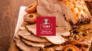 20% Off When You Spend £15 on Food at Toby Carvery
