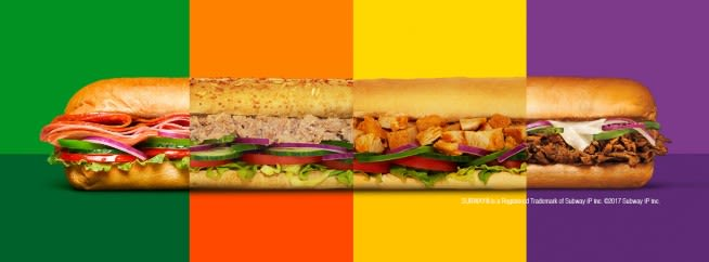 Subway Vouchers Offers January Groupon