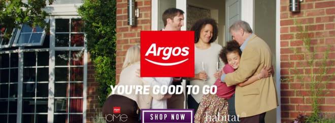 Argos banner Groupon UK