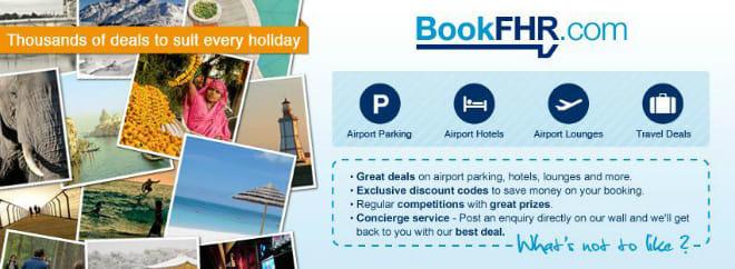 Book FHR airport parking