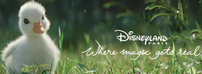 Disneyland Paris banner
