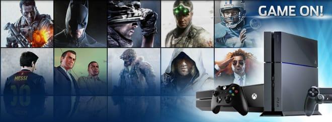 GameFly games