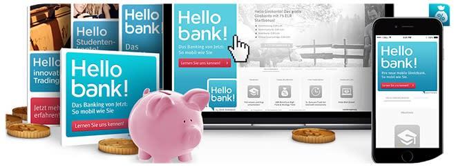 Hello Bank Banner