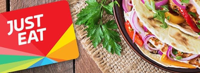Just Eat banner