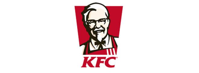KFC dostawa banner