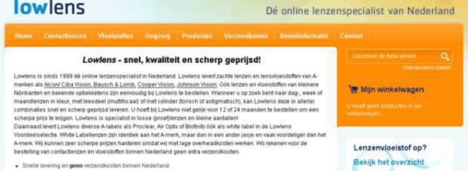 Lowlens banner NL