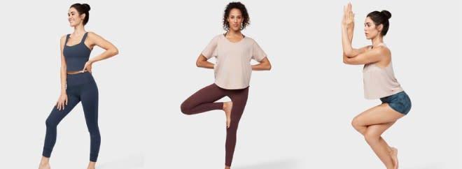 yoga apparel equipment