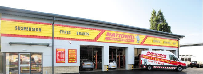 national Tyres banner UK