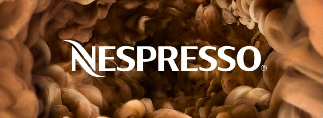 Nespresso banner UK