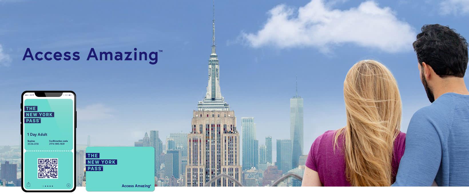 New York pass banner