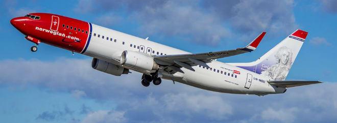 Norwegian Air Image groupon UK