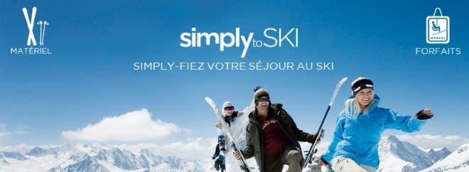 simply to ski