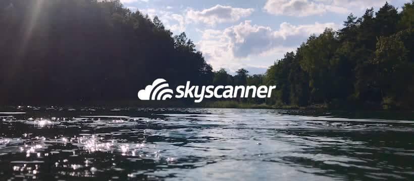 Skyscanner banner