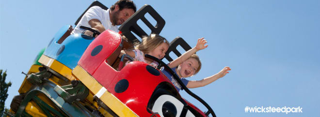 Wicksteed Park Groupon UK Image