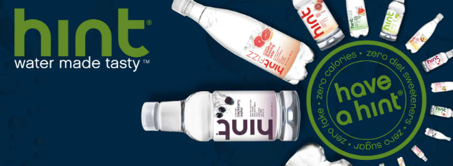 hint water flavors