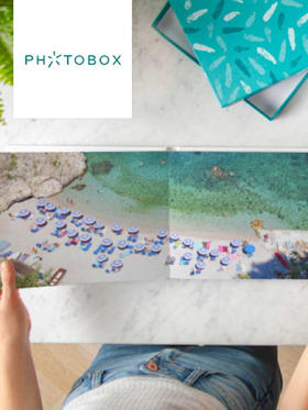 Photobox - 50% de réduction