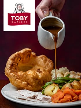 Toby Carvery - Kids Eat £1