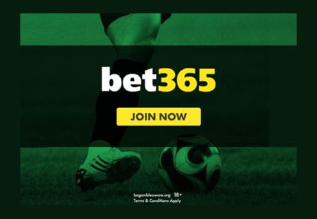 Up to £100 in Bet Credits for New Customers at bet365
