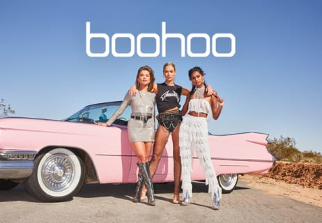 Get 10% Off at boohoo.com - Plus Up to 60% Off