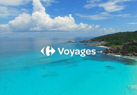 30€ de Réduction en adhérant à la Newsletter Carrefour Voyages