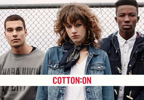 Free Shipping on All Orders Over $55 at Cotton On