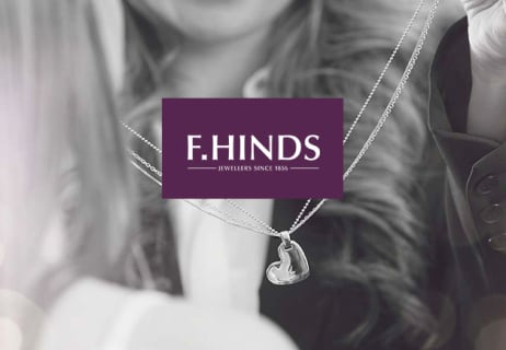 Spend Over £19 at F.Hinds the Jewellers and Get Your Order Delivered for Free