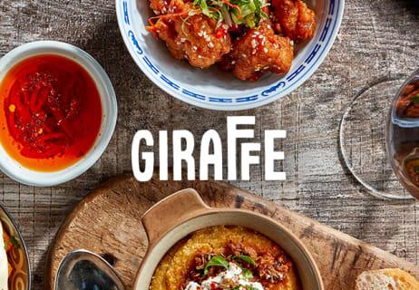 Kids Get to Eat Free at Giraffe